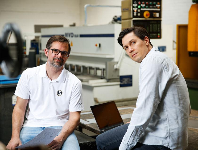 Tobias und Florian Streckel