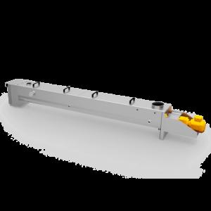 Dämpf- und Wärmeschnecke Typ DWS 250x3250