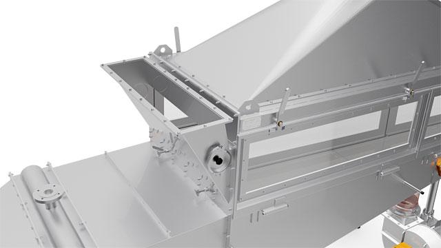 Wirbelschichttrockner Typ WST 300 V2 DF